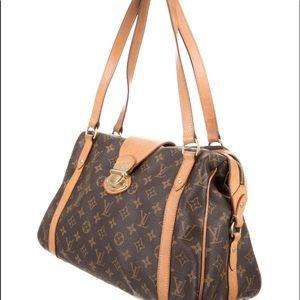 Louis Vuitton Monogram Stressa Bag